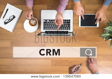 Customer Relationship Management (crm) Concept.
