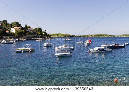 Stari Grad On Hvar Island, Croatia