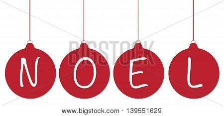 Merry Christmas Happy Holidays Ball Noel Ornaments