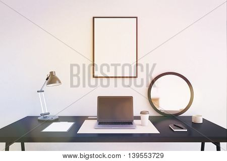 Working Table In Office