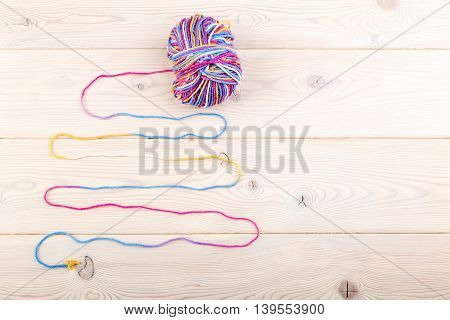 Colorful Bundle On Table