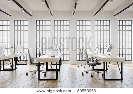 Big Windowed Office