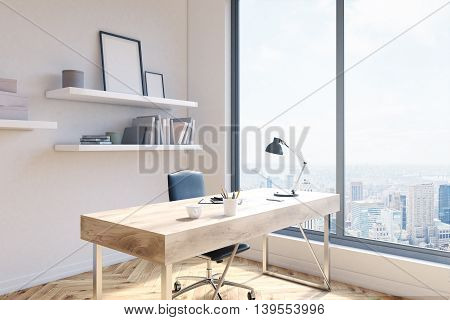 Office Workspace Side