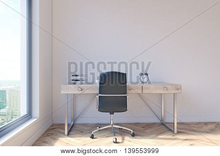 Office With Workspace
