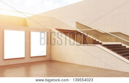 Beautiful Stairs In Building