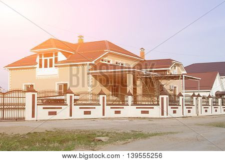 Construction Of A New House For A Large Family