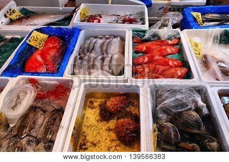 Fish Market Japan
