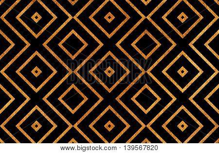 Geometrical Golden Pattern.