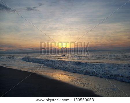 Sunrise, Chincoteague Island National Wildlife refuge VA