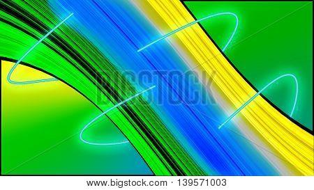 Futuristic Abstract Vortex Design, fast paced theme