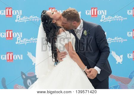 Couple Married At Giffoni Film Festival