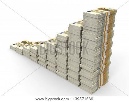 Money Stacks Graph.
