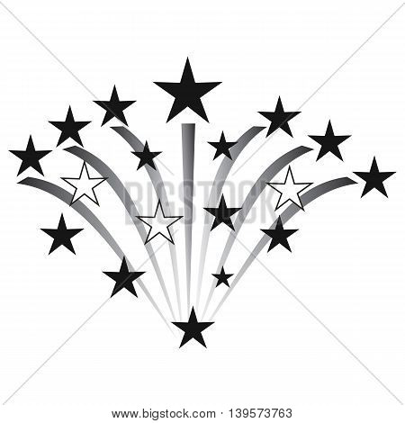 Fireworks Icon firework display firework man made object vector