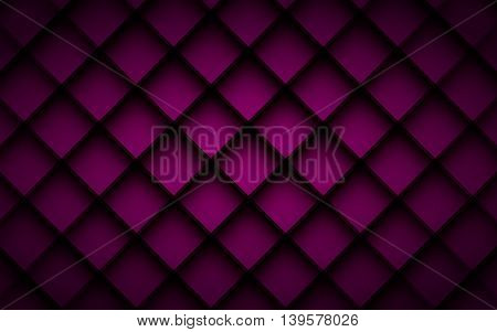Purple square vector background box overlap layer angle with space shadow for text and message modern artwork design