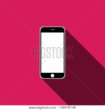 mobile phone icon. Vector illustration EPS 10