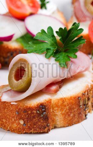 Canape Sandwiches