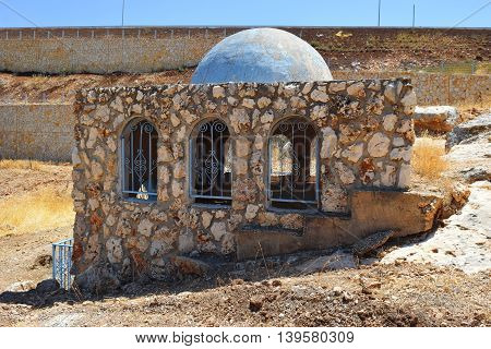 tomb of Bahya ben Asher ibn Halawa, also known as Rabbeinu Behaye, was rabbi and scholar of judaism, near Kadarim in the Galilee, Israel