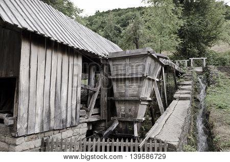 Wooden industry in the Etar Gabrovo Bulgaria