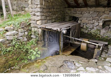 In the Etar Gabrovo Bulgaria in the spring