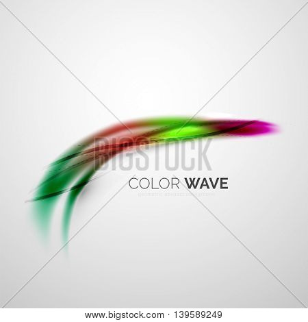 Color wave design element