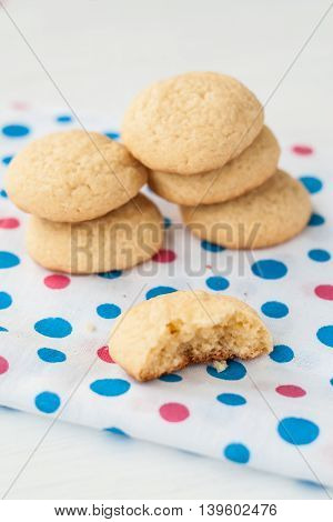 Grentemskoe Round Cookies On Colorful Napkin