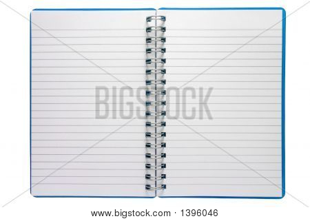 A Small Spiral Notepad