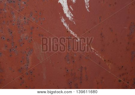 Rusty, metal, brown, metal, scratched, grunge surface