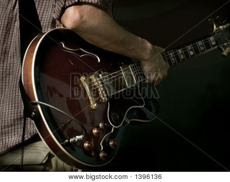 Jazz Guitar On Hand
