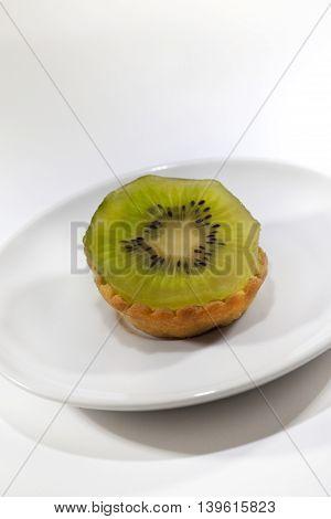 Kiwi Cake On A Plate