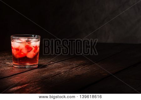 Berry Cocktail On The Table