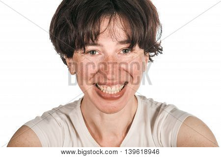 Laughing Woman Headshot