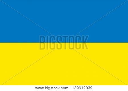 Vector Ukraine flag