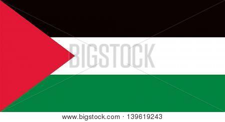 Vector Palestine flag