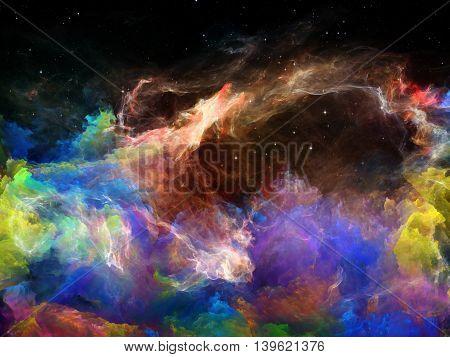 Energy Of Space Nebula