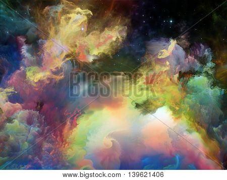 Elegance Of Space Nebula