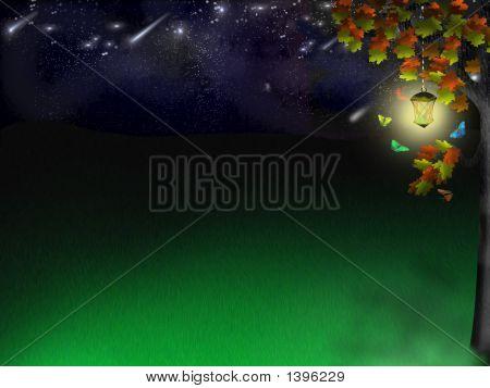 Elf Glade Under Stars