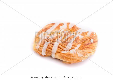 Danish Pastries Isolated On White Background