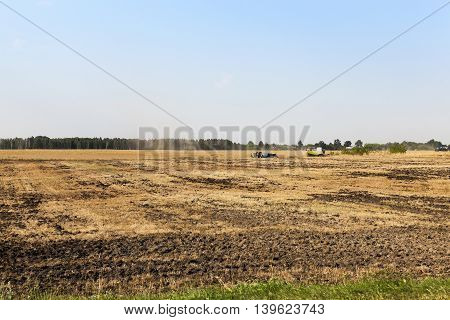 Photo made at the agricultural farm for the production of agricultural products