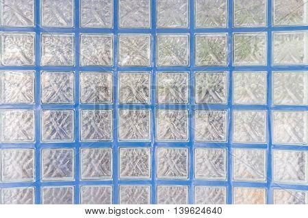 Pattern Of Glass Block Wall Texture