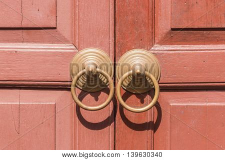 Traditional Chinese Door knocker asia style handle