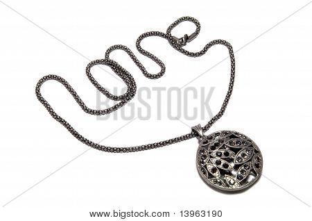 Pendant With Love Chain