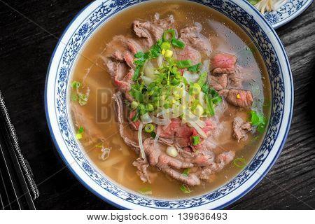 vietnamese pho tom yum - asian soup