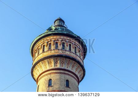 Famous Watertower In Biebrich, Wiesbaden