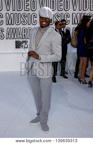 Ne-Yo at the 2010 MTV Video Music Awards held at the Nokia Theatre in Los Angeles, USA on September 12, 2010.