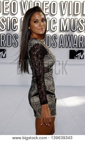 Sammi 'Sweetheart' Giancola at the 2010 MTV Video Music Awards held at the Nokia Theatre in Los Angeles, USA on September 12, 2010.