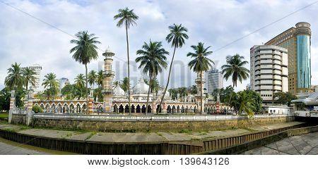 Masjid Jamek, In Kuala Lumpur, Malaysia