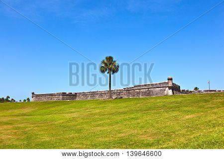 Castillo De San Marco - Ancient Fort In St. Augustine Florida