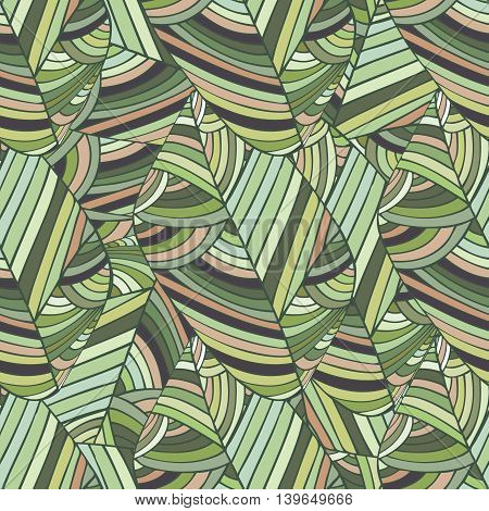 African ethnic seamless pattern. Boho art print. Bright background for fabric, clothing, wallpaper, scrapbooking. Abstract seamless pattern
