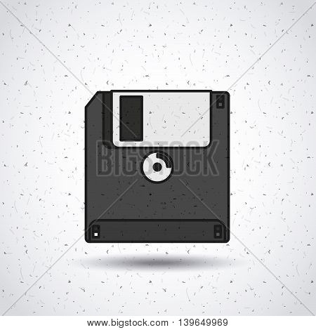 floppy disk isolated icon design, vector illustration  graphic