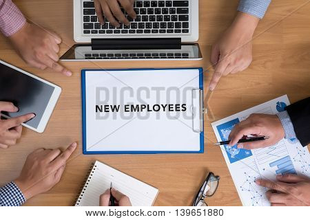 New Employees Business Concept